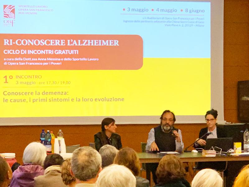 PROGETTO: RICONOSCERE L'ALZHEIMER
