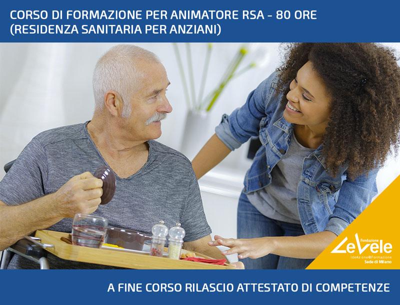 FEBBRAIO 2020: IN ARRIVO IL CORSO DI FORMAZIONE ANIMATORE RSA (80 ORE) A MILANO!
