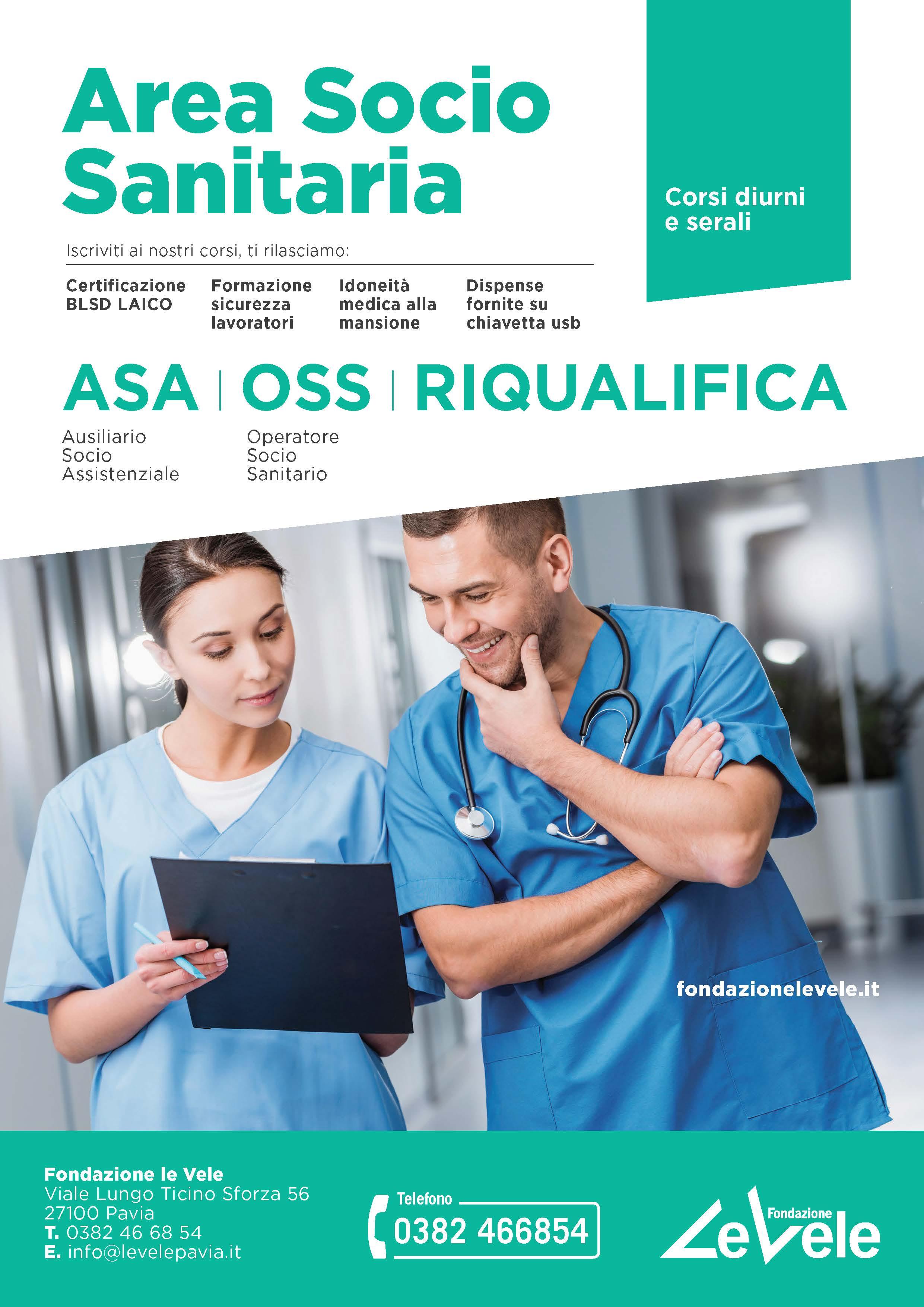 AVVIO CORSI ASA – OSS – RIQUALIFICA ASA/OSS ONLINE