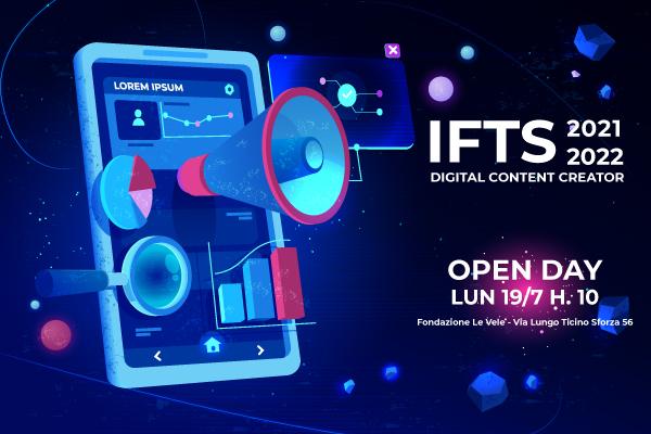 IFTS 2021 A PAVIA OPEN DAY FONDAZIONE LE VELE